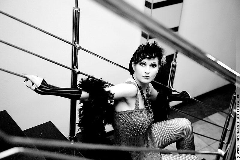 ...ретро прическу и макияж в стиле 30-х годов Чикаго своими руками, фото.
