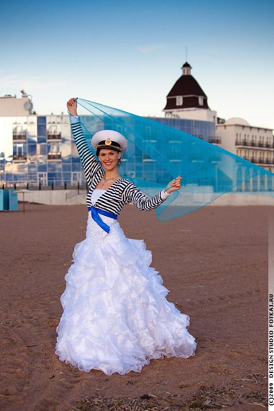 Свадьба в морском стиле фото