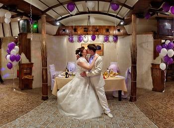 Свадьба в кафе фото.